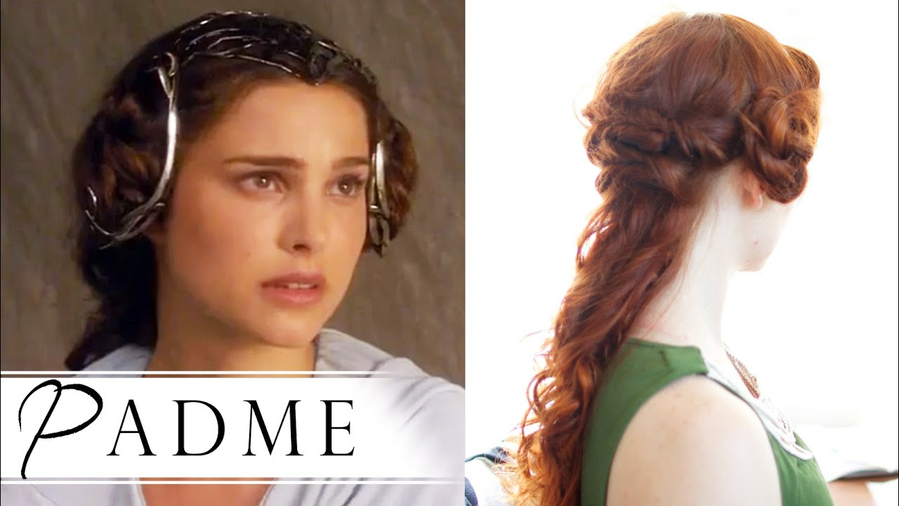 Star Wars Hair How To Padmé In Attack Of The Clones Youtube