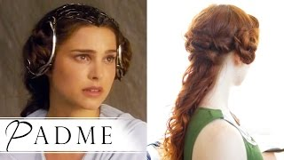 Star Wars Hair How To - Padmé in Attack of the Clones