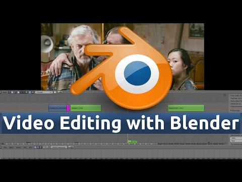 4 - Blender Video Editing (Select, Grab, And Cut Strips)