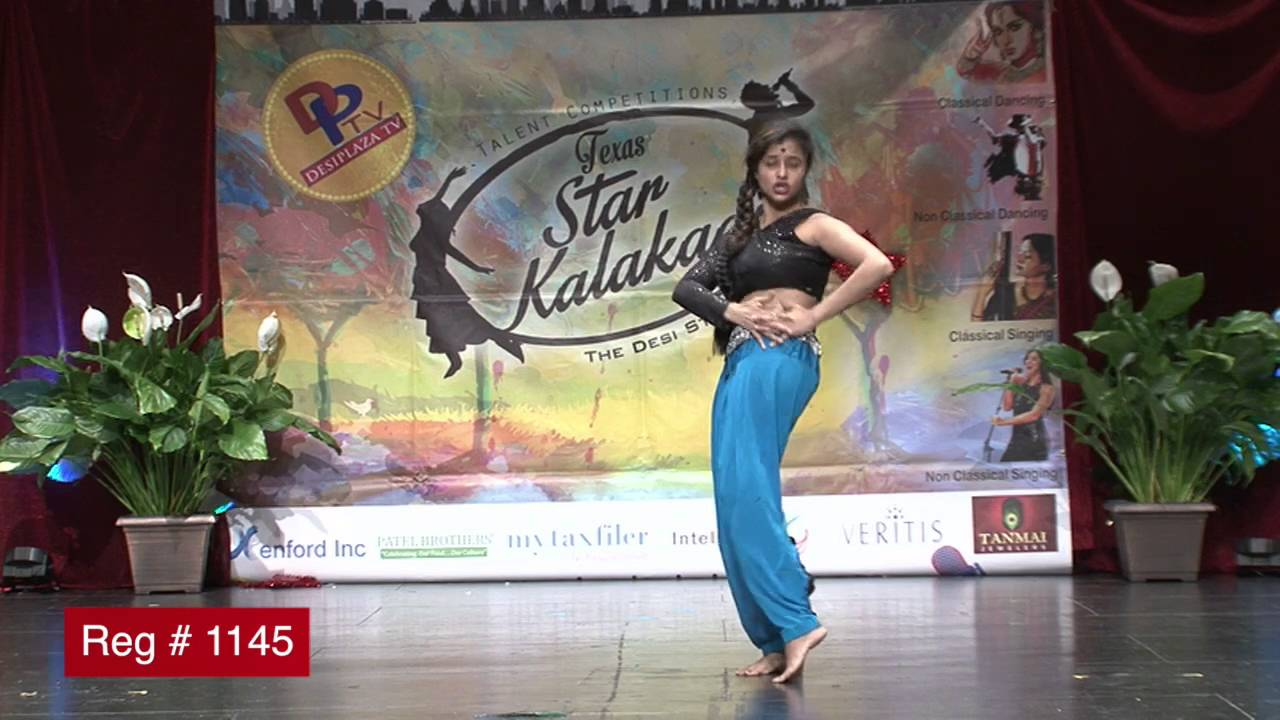 Participant Reg# 1145 Dancing for  Texas Star Kalakaar Title  on Saturday, June 4, 2016