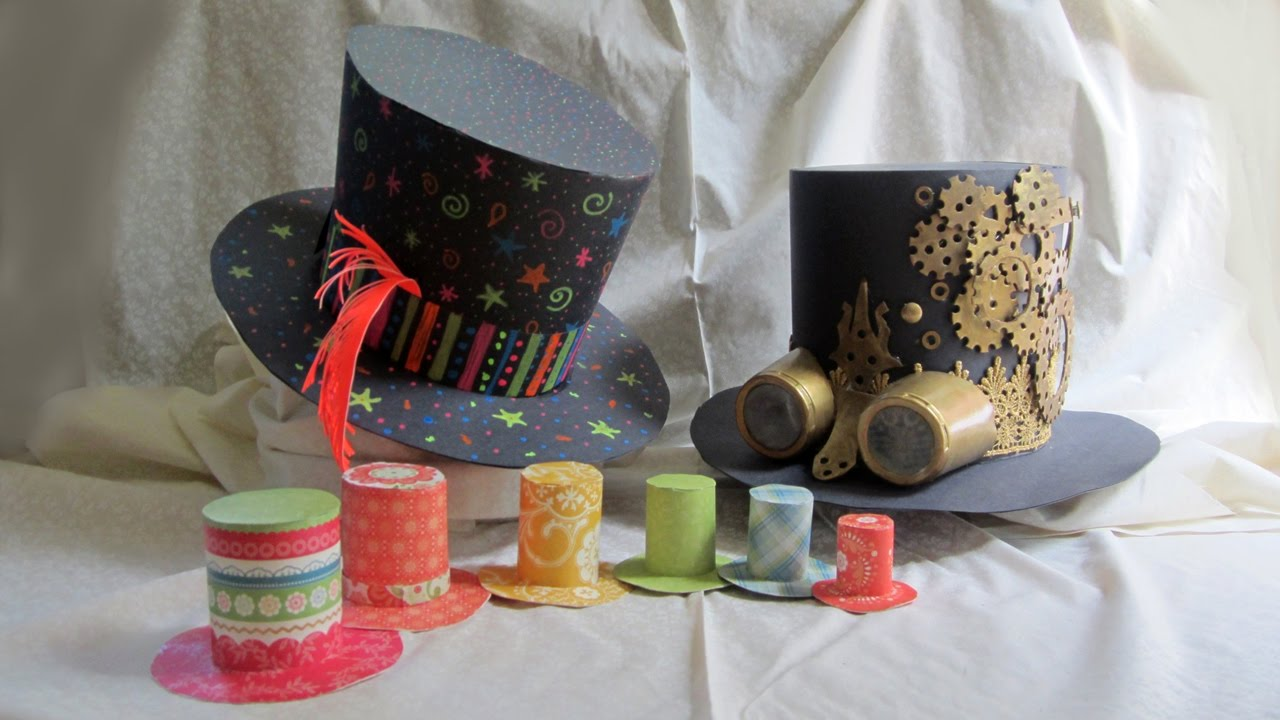 Diy Mini Top Hats Steampunk Hat Mad Hatter Hat Childrens Tutorial