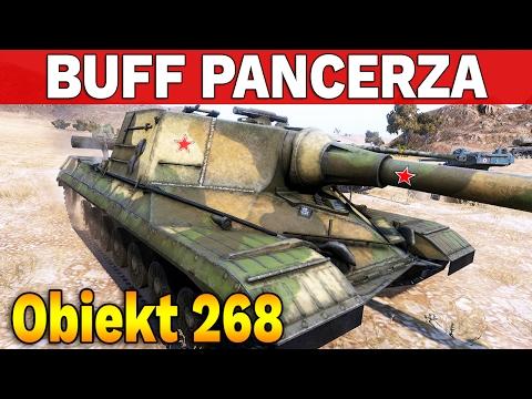 BUFF PANCERZA dla Object 268 i WZ-111 Model 1-4 - World of Tanks