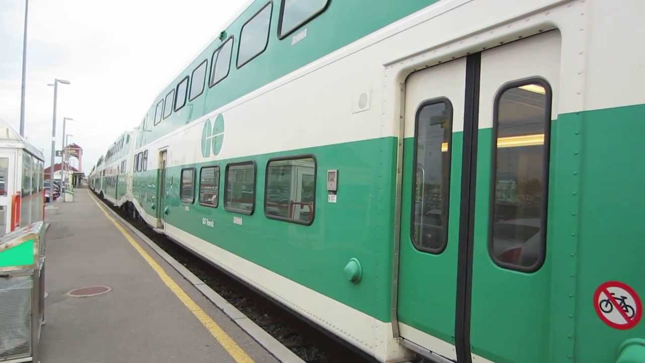 GO Transit Train 2006-2007 Cab Car #247 - YouTube
