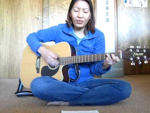 How Great Thou Art (hymn) - Guitar strumming #1