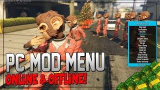 "GTA 5 PC Mods - ""Mod Menu"" - ""PC Mod Menu"" Online Cash Dropper (GTA 5 PC Mod Gameplay)"
