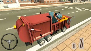 Garbage Truck & Recycling Simulator #2 - Android Gameplay FHD