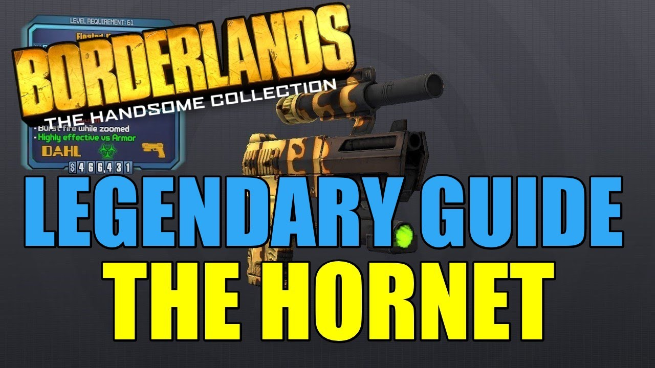 Borderlands Legendary Guide: The Hornet - Handsome Edition Guides