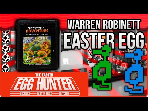 Adventure Atari 2600 Easter Egg- The Easter Egg Hunter
