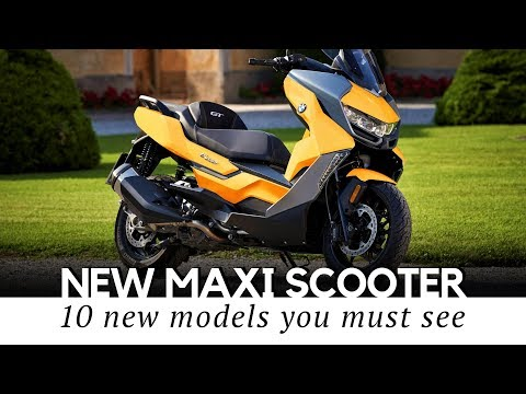 Top 10 Maxi Scooters with Motorbike Power and Comfort (Buying Guide for 2019)