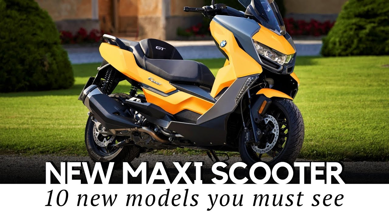 Best Motor Scooters 2020 Top 10 Maxi Scooters with Motorbike Power and Comfort (Buying