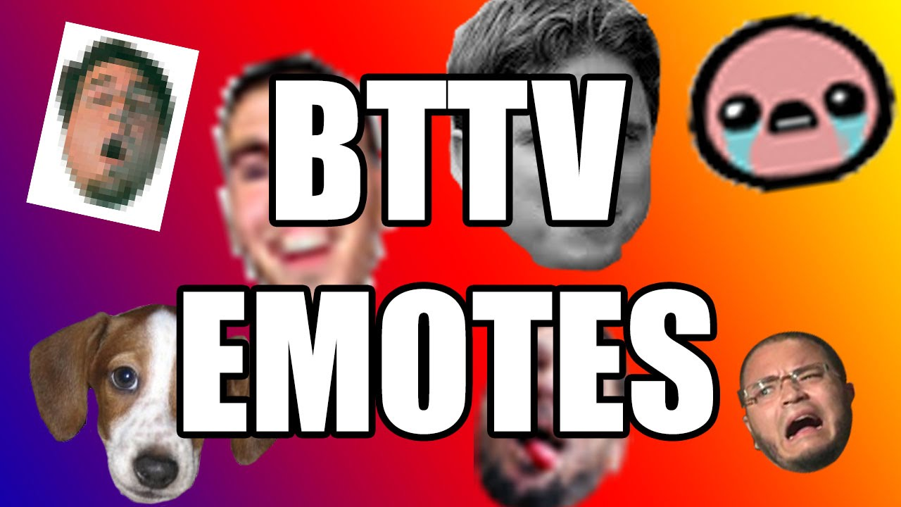 How to get your own BetterTTV Emotes!