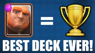 CLASH ROYALE | BEST DECK EVER! | Epic Legendary Arena Deck (Arena 9)!