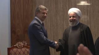 ՀՀ վարչապետ Կարեն Կարապետյանի և Իրանի նախագահ Հասան Ռոհանիի հանդիպումը