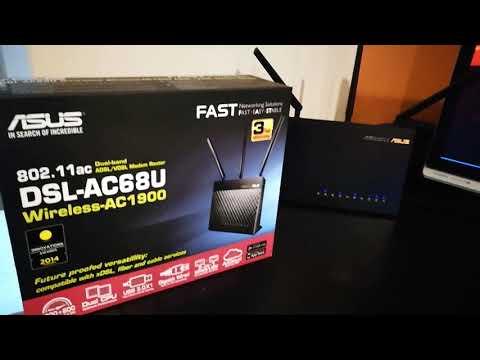Wan setup on Asus DSL-AC68U Modem Router on nbn (HFC)