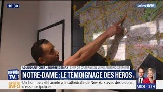 Notre-Dame : l'hommage des pompiers de New-York
