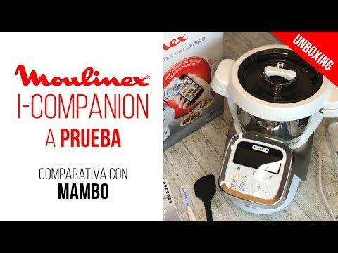 Moulinex i-Companion a prueba y comparativa con el robot de cocina Cecotec Mambo