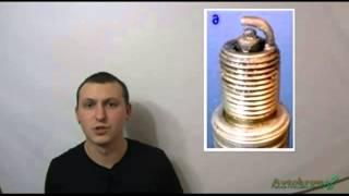 видео Диагностика работы двигателя по состоянию свечей зажигания