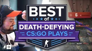 Best of Death-Defying, Low HP CS:GO Plays