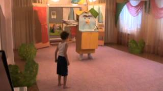 Театральная постановка Мойдодыр, детский сад 328 Красноярск