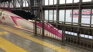 500系新幹線ハローキティラッピング 博多南行き 博多駅発車