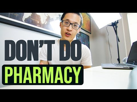 Why Pharmacy Is NOT A Good Career Anymore....