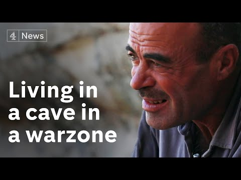 Inside Idlib: The Syrian family living in a cave