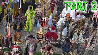 🎃 Huge 82 Halloween Animatronic Collection PART 2 🎃 DavidsTV