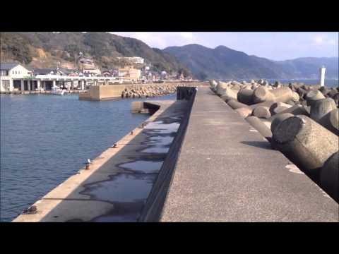 福井県 越前釣り場 甲楽城漁港(かぶらぎ