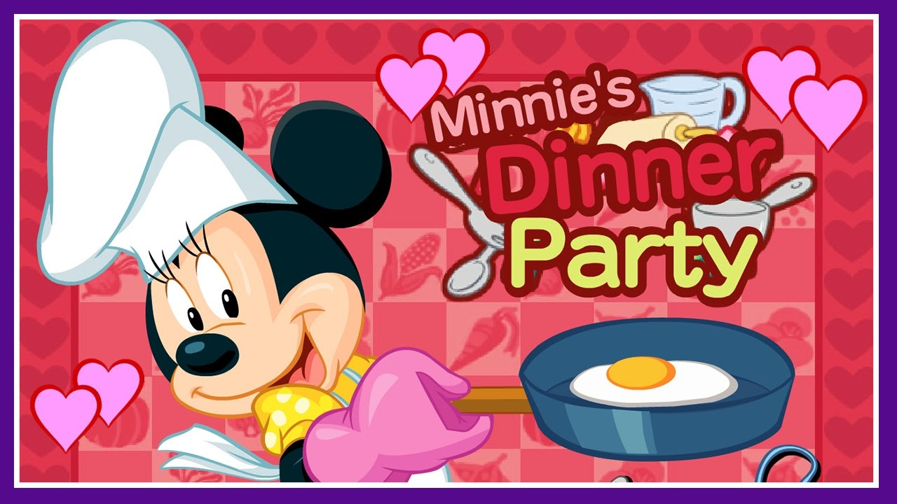 Minnie S Dinner Party Mickey Mouse Clubhouse Cooking Game Disney Junior Games For Kids Youtube