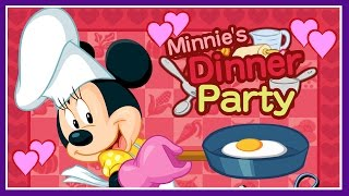 Minnie's Dinner Party - Mickey Mouse Clubhouse Cooking Game - Disney Junior Games For Kids