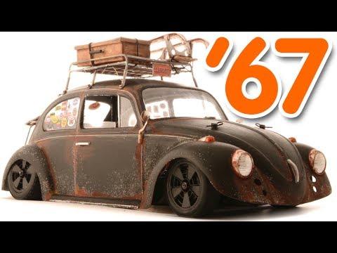 My Low Amp Rusty 67 Vw Beetle Tamiya M 06 Youtube