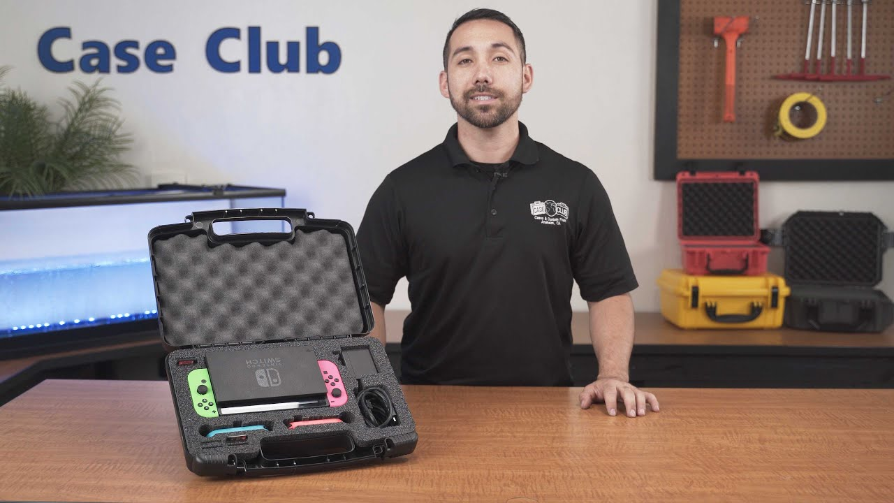 Case Club Nintendo Switch Compact Carrying Case - Overview - Video