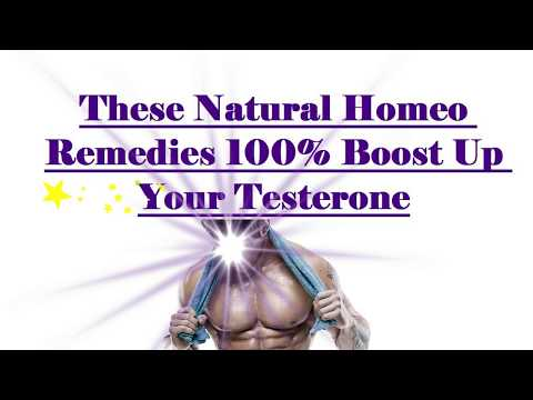 Low Testosterone Homeopathic Remedies
