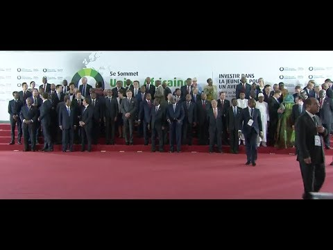 Sommet UA-UE_les discours d'ouverture de la plénière