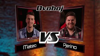"Mateo vs. Pjerino : ""Titanium"" - The Voice of Croatia - Season1 - Battle2"