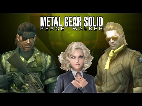 Metal Gear Solid: Peace Walker Movie HD 60fps PS3 All Cutscenes with Secrets