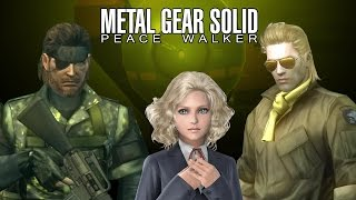Metal Gear Solid: Peace Walker Movie HD 60fps PS3 All Cutscenes with Secrets