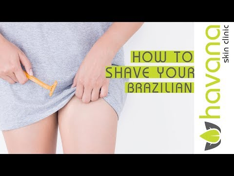 How to shave for your Brazilian  Laser hair removal bikini
