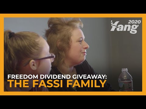 The Fassi Family Of New Hampshire - Andrew Yang's 2019 Freedom Dividend Giveaway