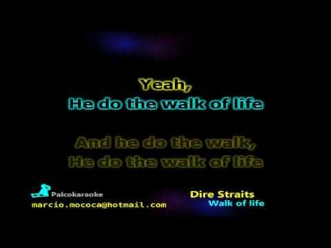 Dire Straits - Walk Of Life - Karaoke