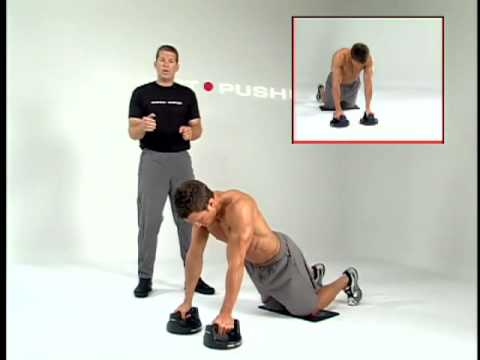 Tricep Kick Back Pushup Workout With The Perfect Pushup®   Perfect Fitness