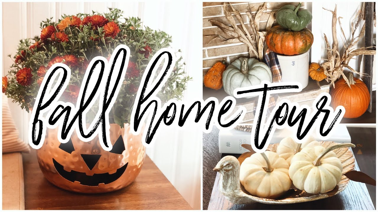 Fall Home Decor Tour 2020 | Elegant  Modern Traditional