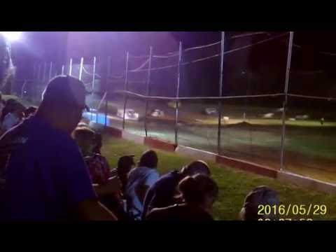 Monett Speedway Tony Roper Memorial Late Models feature event 5 29 16