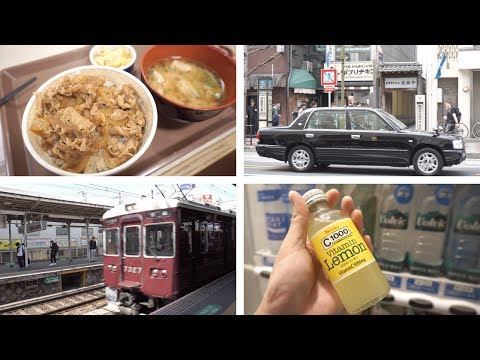 Japan, Day 11.1, Kyoto to Osaka - Sukiya Gyudon, Hankyū Kyoto Line, Best Western Fino Shinsaibashi