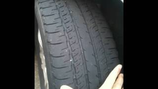 Tire Wear Problems - Causes And Symptoms