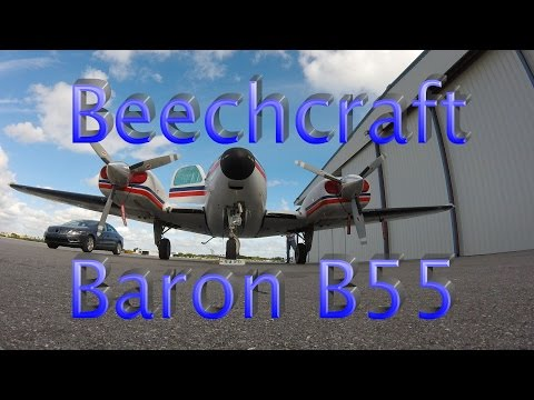 Beechcraft Baron B55 Flying A Busy Florida IFR Departure With ATC