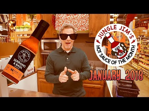 Jungle Jim's Hot Sauce of the Month January 2018