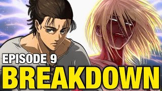 ANNIE RETURNS?! Eren & Zeke's Plan Explained | Attack on Titan Season 4 Episode 9 Breakdown