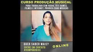 Curso de Produção Musical - Depoimento Luciana