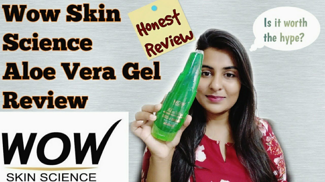 Wow Skin Science Aloe Vera Gel Review   Is this 99% pure?   Honest Review   Demo   The Shubhi Tips!!